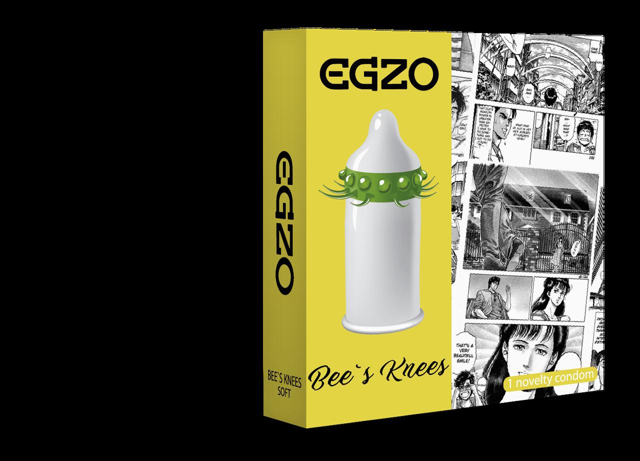 Насадка на член EGZO Bees knees (презерватив з вусиками) SO2016