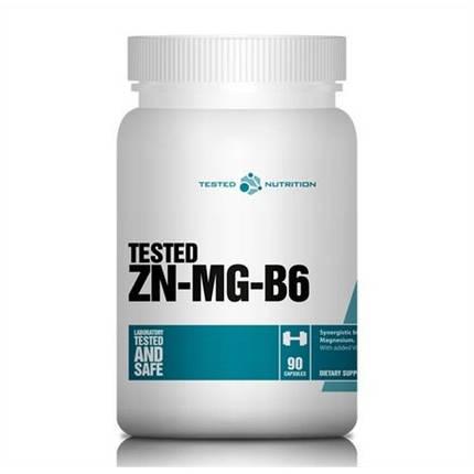 Бустер тестостерона Tested ZMA ( Zn-Mg-B6 ) - 90 caps., фото 2