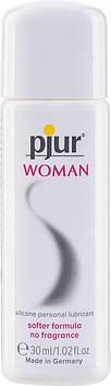 Мастило на силіконовій основі pjur Woman 30 мл, без ароматизаторів та консервантів спеціально для неї PJ10160