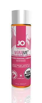 Змазка на водній основі System JO NATURALOVE Strawberry (120мл) з екстрактом ромашки і листя агави SO1662 код