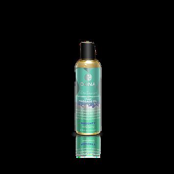 Масажне масло DONA Massage Oil NAUGHTY - SINFUL SPRING (110 мл) з феромонами і афродизіаками SO1691 код