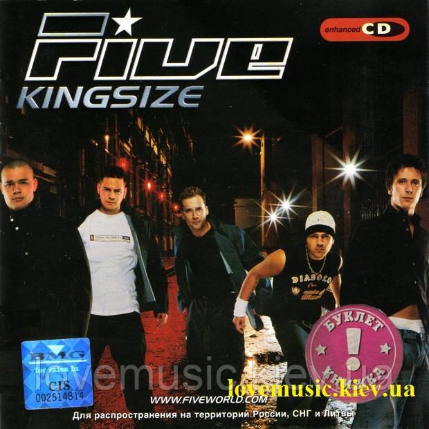 Музичний сд диск FIVE Kingsize (2001) (audio cd)
