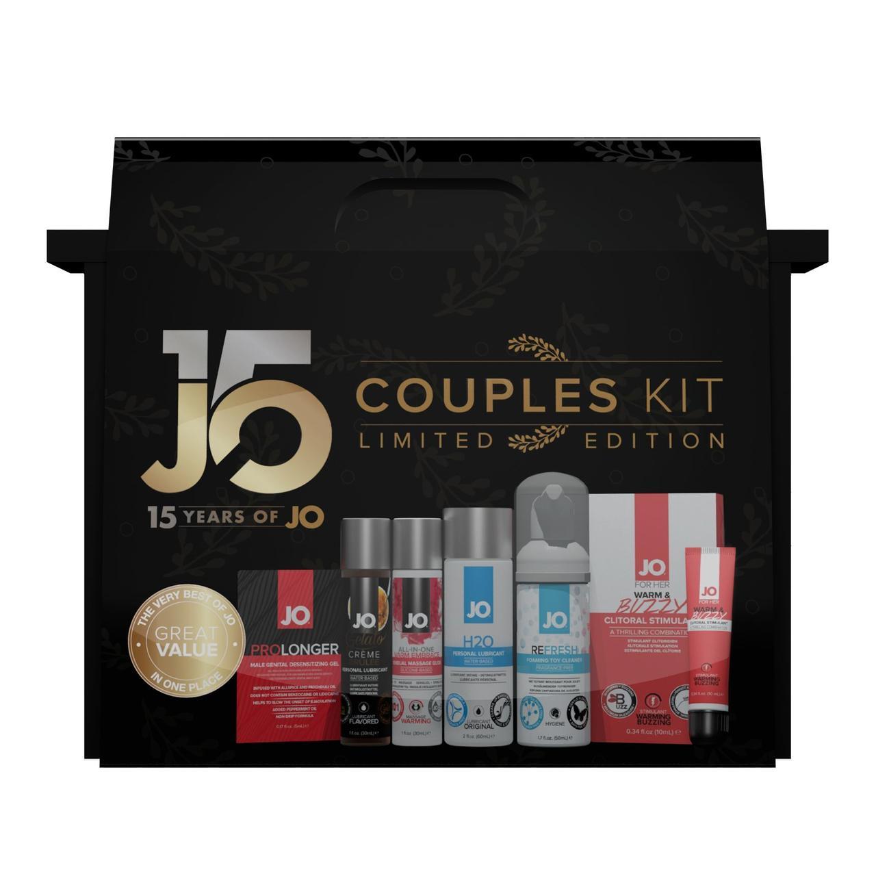 Подарунковий набір System JO Limited Edition - 15th Years of JO з шести кращих товарів бренду SO2207