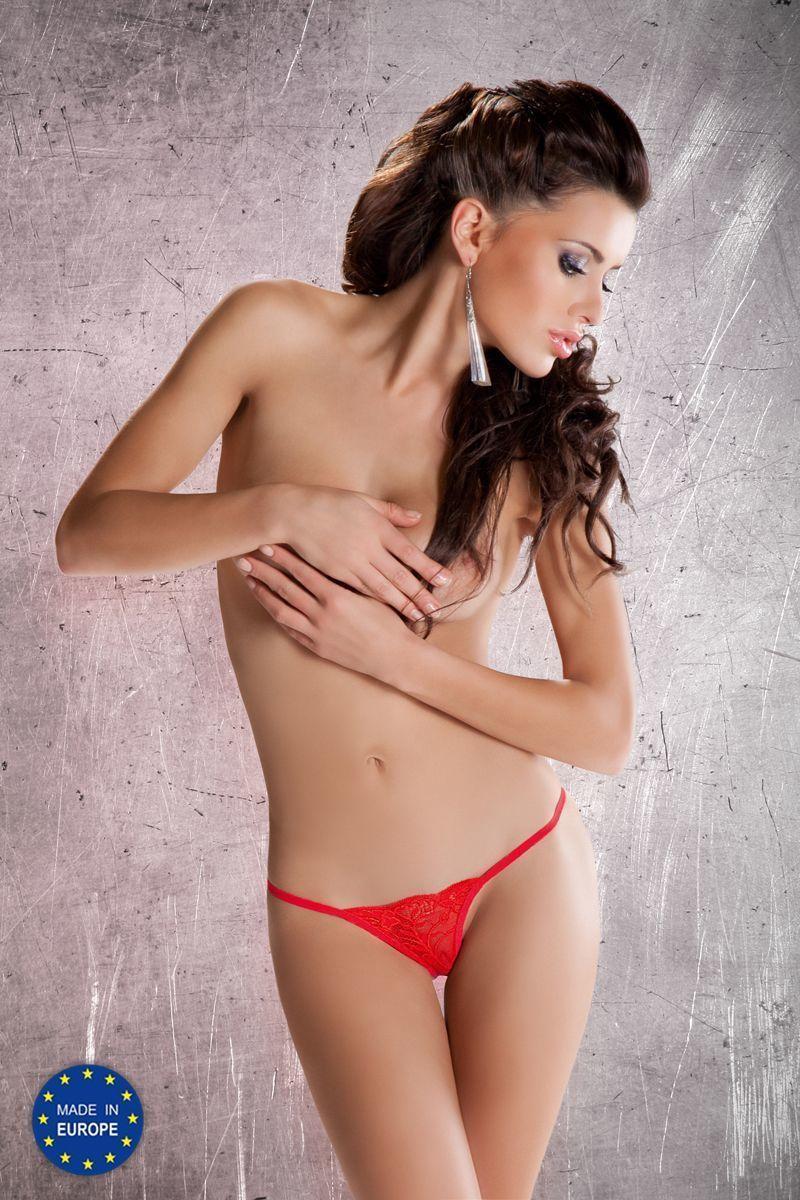 Трусики-стринги MT005 red - Passion EL16003