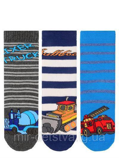 Махровые детские носки TM BROSS р.1-3 (22-24 см)