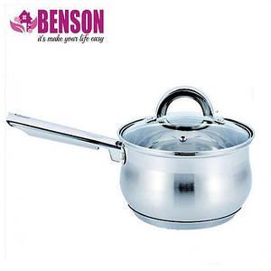 Ковш с крышкой 1,6 литра (5 слойное дно) Benson