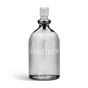 Преміум лубрикант 3-в-1 на силіконовій основі Uberlube (100 мл) для сексу, догляду за тілом та волоссям SO2606