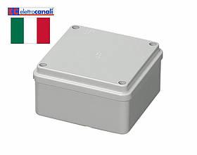 Коробка распределительная IP56 100x100x50 Elettrocanali EC410C4 (настенная)