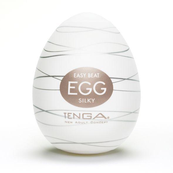 Мастурбатор яйцо Tenga Egg Silky (Нежный Шелк) E21710