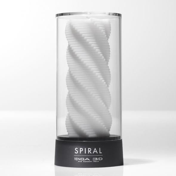 Мастурбатор Tenga 3D Spiral, дуже ніжний, з антибактеріального еластомеру з сріблом SO2194 код
