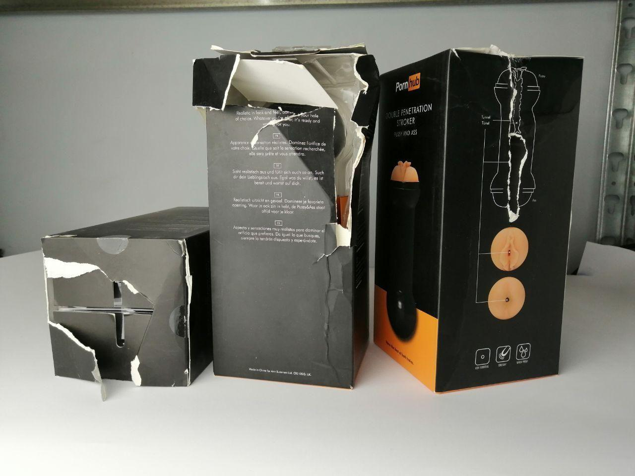 Мастурбатор Pornhub Double Penetration Stroker (испорченная упаковка) SO3123-R