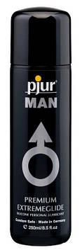 Густая силиконовая смазка pjur MAN Premium Extremeglide 250 мл с длительным эффектом, экономная