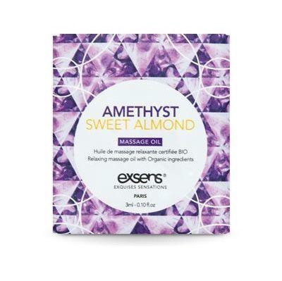 Пробник массажного масла EXSENS Amethyst Sweet Almond 3мл SO2383