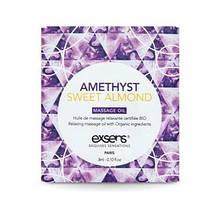Пробник массажного масла EXSENS Amethyst Sweet Almond 3мл SO2383 код
