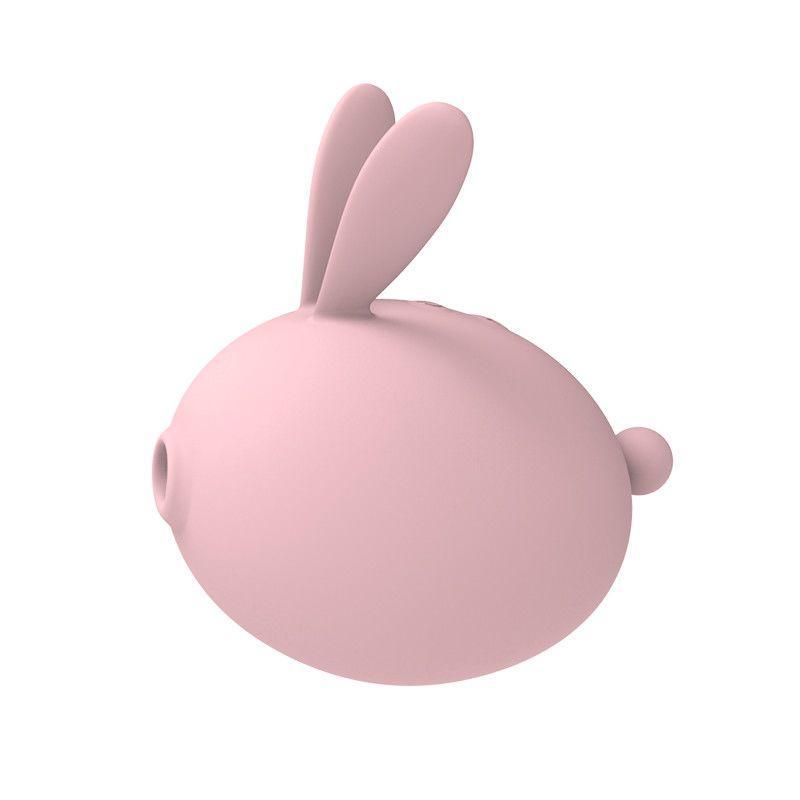 Вакуумний стимулятор з вібрацією KissToy Miss KK Pink SO3620