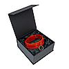 Премиум ошейник LOVECRAFT размер M красный, натуральная кожа, в подарочной упаковке SO3318 код, фото 4