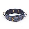 Премиум ошейник LOVECRAFT размер M голубой, натуральная кожа, в подарочной упаковке SO3320, фото 2