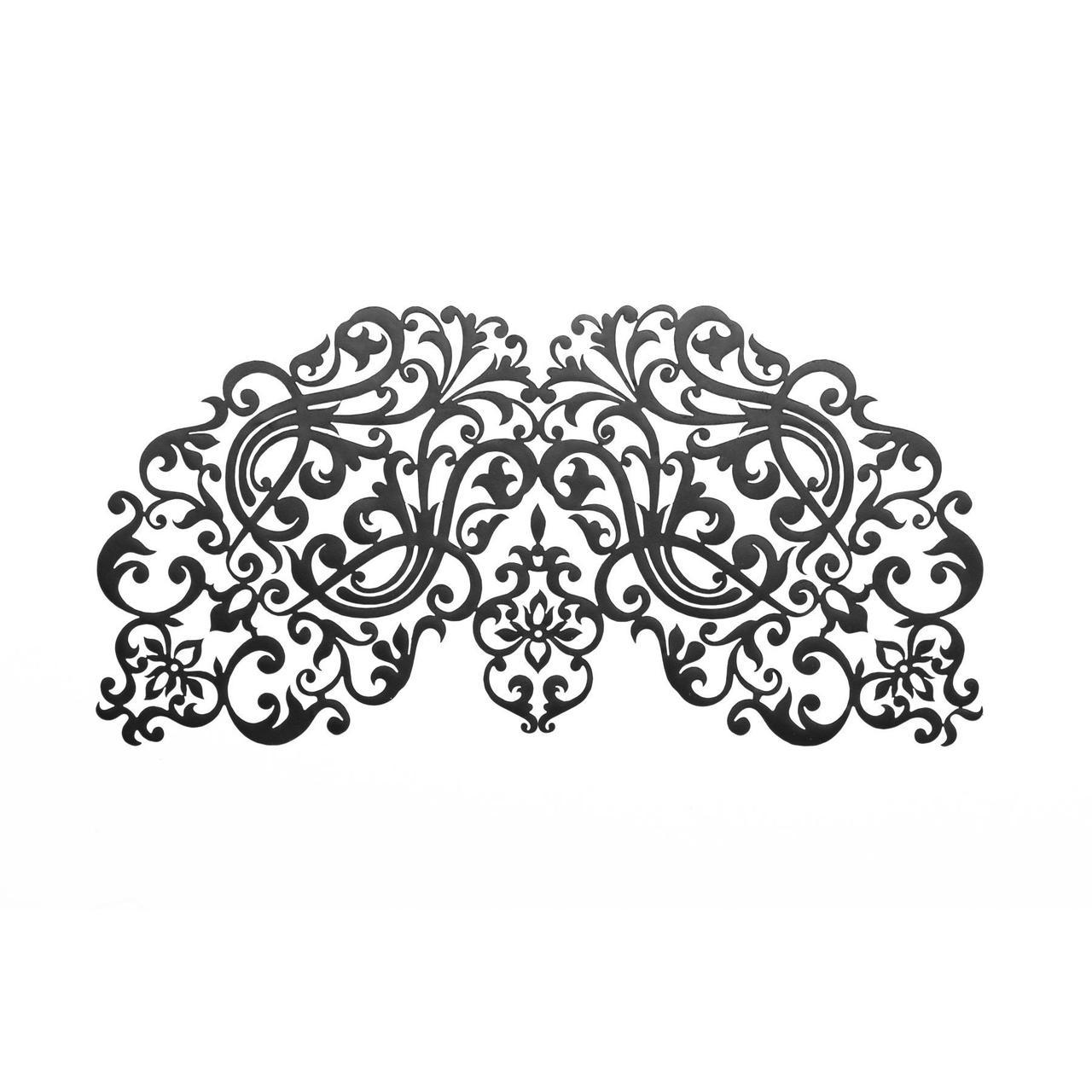 Маска на лицо Bijoux Indiscrets - Dalila Mask, виниловая, клеевое крепление, без завязок SO2331