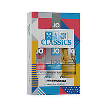 Набор System JO Tri-Me Triple Pack - Classics (3 х 30 мл) водная, силиконовая и вкусовая смазки SO2839 код
