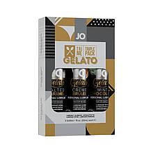 Набор System JO Tri-Me Triple Pack - Gelato (3 х 30 мл) три разных вкуса серии Джелато SO2841 код