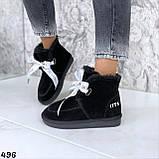 Угги женские черные 496, фото 3