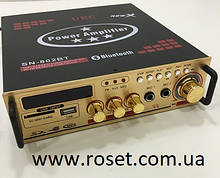 Усилитель звука UKC 802 BT с караоке и Bluetooth