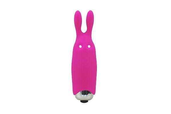 Вибропуля Adrien Lastic Pocket Vibe Rabbit Pink со стимулирующими ушками AD33421 код