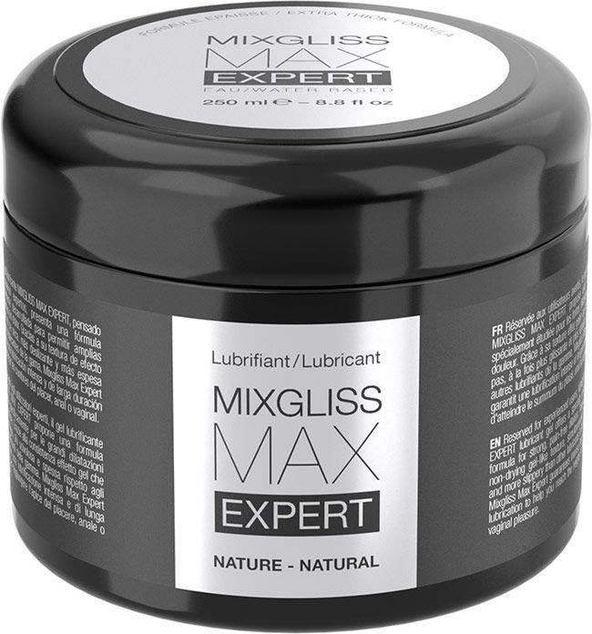 Густая смазка для фистинга и анального секса MixGliss MAX Expert Nature (250 мл)  на водной основе SO2736 код