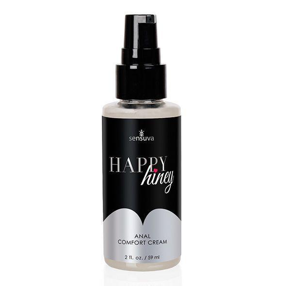 Расслабляющий анальный крем Sensuva Happy Hiney (50 мл) с маслом чайного дерева и анестетиком SO3190