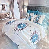 Комплект постельного белья полуторный ТИРОТЕКС хлопок (23280) Абстракция цветы