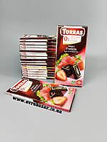 Шоколад  Torras з полуницею (без цукру), фото 1