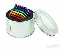 Неокуб разноцветный 5мм, 216 шариков, конструктор NeoCube