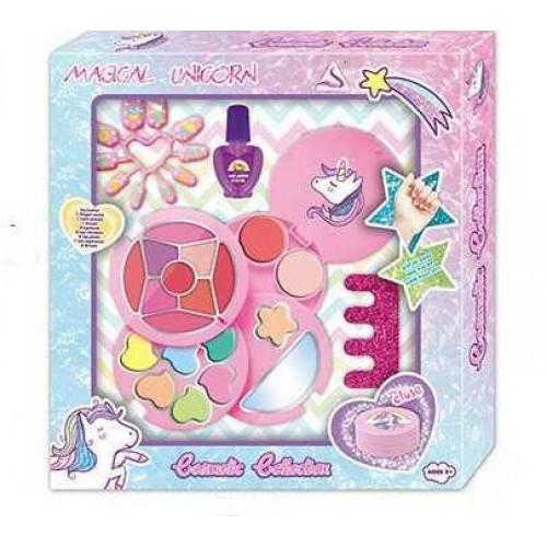 Набор детской косметики в шкатулке Таинственный Единорог Cosmetic Collection J-1021