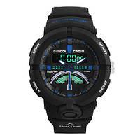 Часы мужские спортивные наручные  C-SHOCK GA-500 Black-Blue