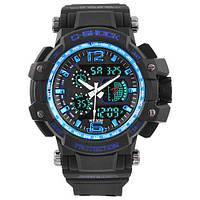 Часы мужские спортивные наручные  C-SHOCK GW-4000 Black-Blue