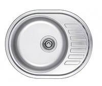 Мийка кухонна овальна Fabiano 57х45 з нержавіючої сталі