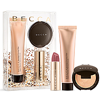 Набор BECCA Your Glow-To Glow Primer, Highlighter & Lip Kit