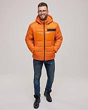 Зимова чоловіча куртка Riccardo Помаранчевий