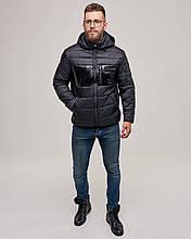 Зимова чоловіча куртка Riccardo Чорний