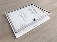 Стенд для информации со стеклом и замком, 420х600 мм, фото 1
