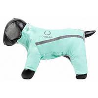 Комбинезон зимний для собак Collar, ментоловый №12 миттельшнауцер