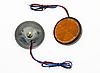 Желтые LED отражатели, светодиодные катафоты,  ЛЕД маячки - отражатели / 2шт, фото 2