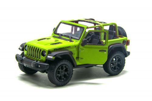 "Машинка KINSMART ""Jeep Wrangler"" (зелёный) KT5412WA"