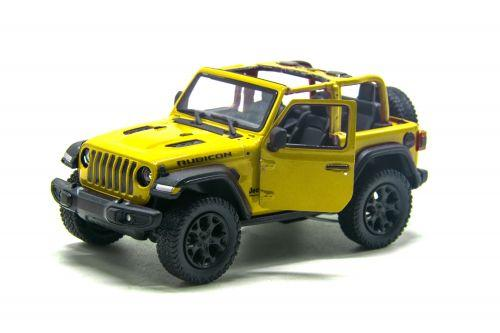 "Машинка KINSMART ""Jeep Wrangler"" (жёлтый) KT5412WA"