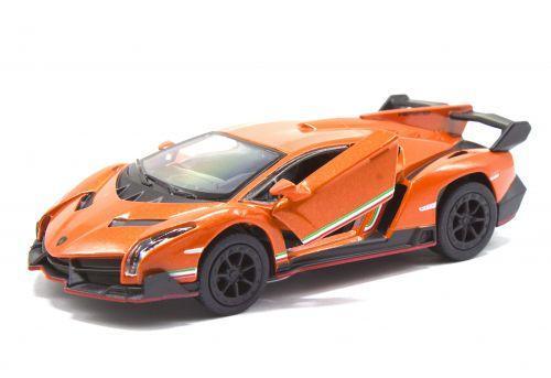 "Машинка KINSMART  ""Lamborghini Veneno"" (оранжевая) KT5367W"