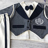 Нарядный костюм на мальчика 9. Размер 74 см, 80 см, фото 4