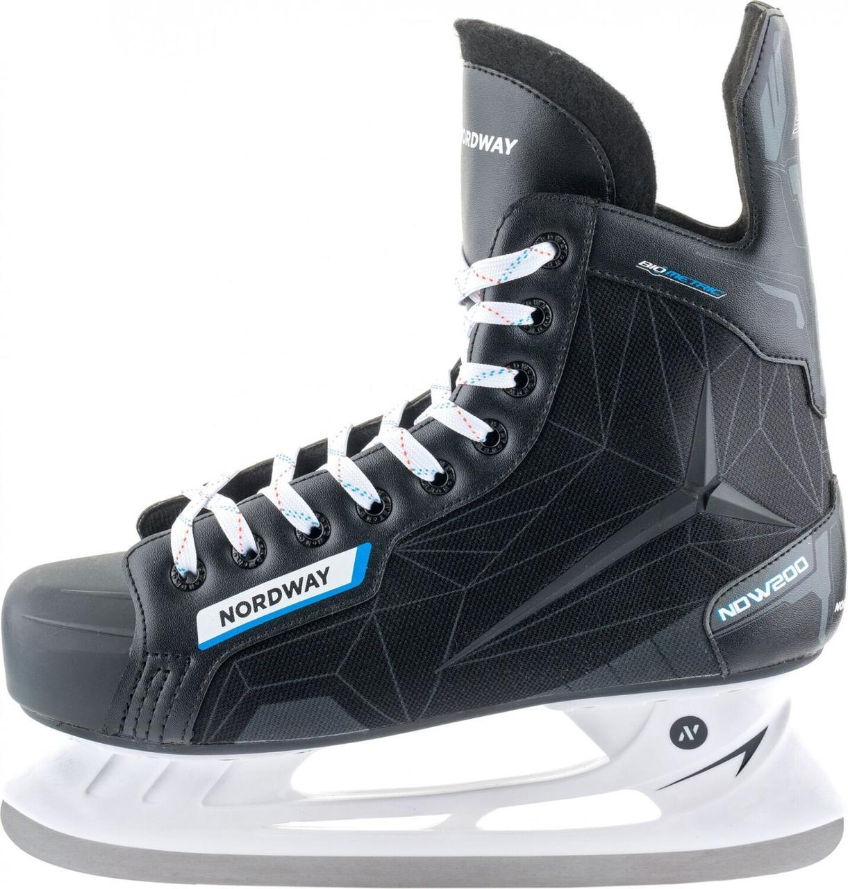 Коньки хоккейные Nordway NDW200, Черный, 39