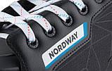 Коньки хоккейные Nordway NDW200, Черный, 39, фото 6