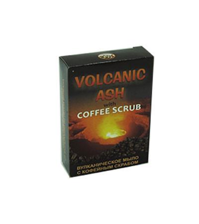 Volcanic Ash - вулканическое мыло с кофейным скрабом