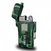 Зажигалка электроимпульсная Explorer Jl317, фото 1